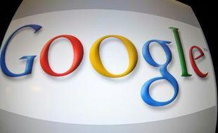 Logo de Google à Washington le 11 janvier 2011