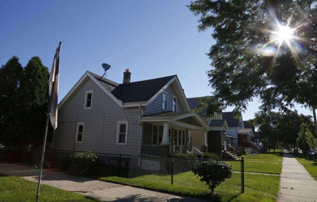 La maison de Cudahy où vivait Wade Michael Page, le tireur présumé de la fusillade d'Oak Creek, dans le Wisconsin, le 5 août 2012. – Jeffrey Phelps/AP/SIPA