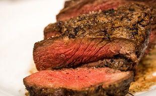 Illustration d'un steak.