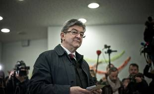 Jean-Luc Mélenchon, le 7 mai 2017.
