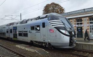 Le premier Regio 2N a été mis en service fin 2014 sur la ligne Rennes/Saint-Malo.