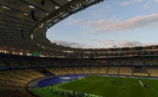 Le stade olympique de Kiev, ici en mai à la veille de la finale de Ligue des champions entre le Real Madrid et Liverpool.