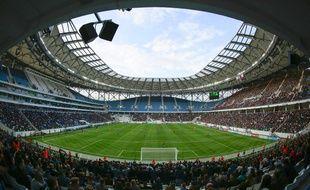 La Volgograd Arena accueillera des rencontres de la Coupe du Monde de football 2018 en Russie.
