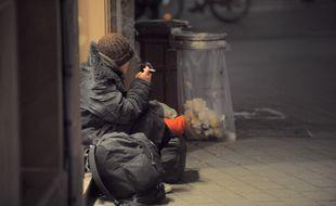 Les personnes sans-abri sont particulièrement vulnérables en périodes de grand froid (illustration).