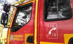 Un véhicule des marins-pompiers de Marseille (illustration).