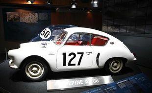 Exposition consacrée à la marque Alpine en 2008 à l'Atelier Renault.