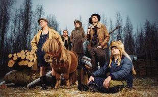 Le groupe finlandais Steve 'N' Seagulls jouera samedi soir dans le hall 3 du Parc Expo.
