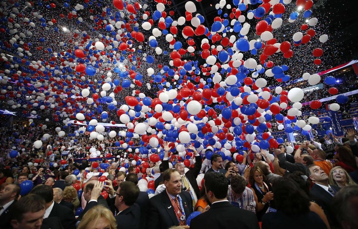 Le convention républicaine de 2012, à Tampa, en Floride. – J.C.HONG/AP/SIPA