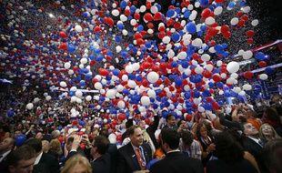 Le convention républicaine de 2012, à Tampa, en Floride.