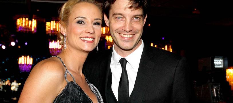 Les époux Elodie Gossuin et Bertrand Lacherie