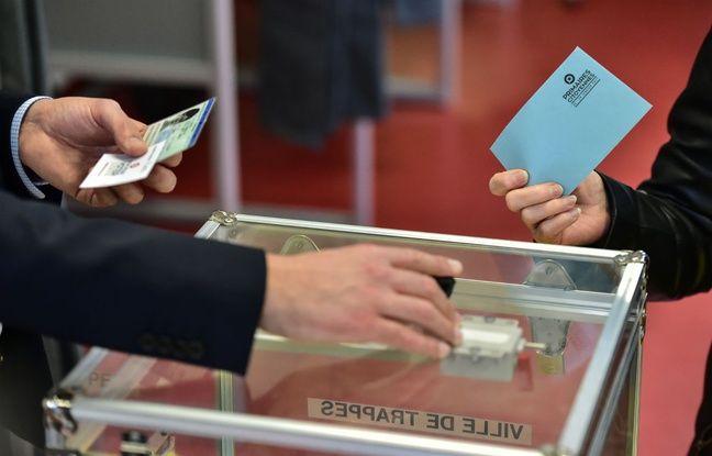 Un bureau de vote en France (illustration)
