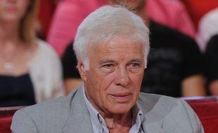 Guy Bedos lors de l'émission de France 2 «Vivement Dimanche», le 3 septembre 2014.