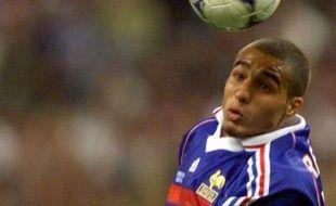 L'ancien attaquant de l'équipe de France, David Trezeguet, lors de la demi-finale de la Coupe du monde 98, face à la Croatie.