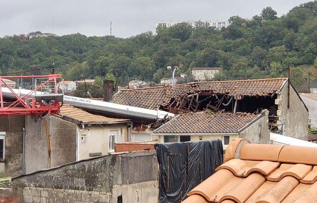 Les dégâts sur les habitations sont considérables.