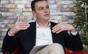 Christophe Robert, le délégué général de la Fondation Abbé Pierre, dans le sudio du journal 20 Minutes, le 22 janvier 2020.