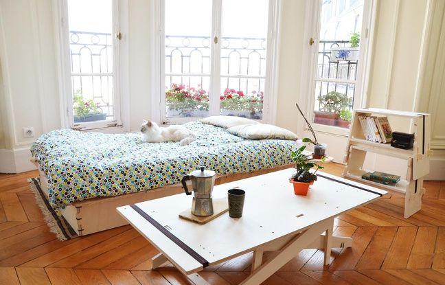 Les meubles PopUp Moi sont faciles à assembler et à déménager. - PopUp Moi
