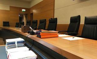 La cour d'assises des Alpes-Maritimes, ce lundi après-midi.
