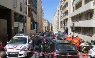 Rue de Crimée, où les deux hommes louaient un appartement.