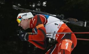 A 27 ans, le Norvégien Emil Hegle Svendsen a trouvé son Eldorado à Nove Mesto, vainqueur des trois premières épreuves des Mondiaux-2013 (relais mixte, sprint et poursuite) et capable de réaliser en Moravie un grand chelem historique.