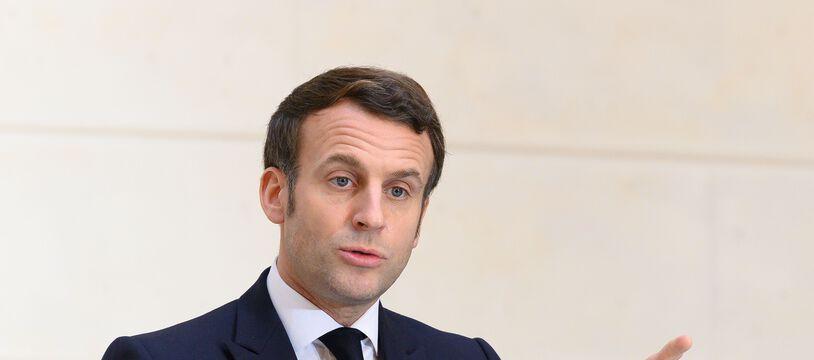 Emmanuel Macron, le 13 janvier 2021 à l'Elysée.