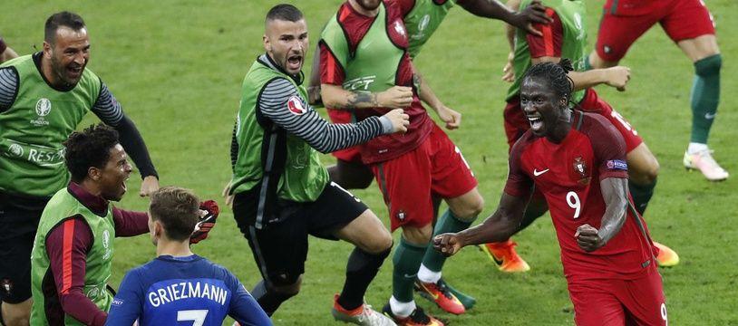 Le Portugais Eder ne pourra pas exulter de nouveau face à Grizou.