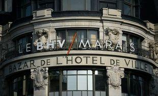 Fondé en 1856, le BHV Marais a enregistré l'an dernier un chiffre d'affaires en progression de 6%
