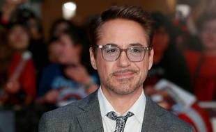 L'acteur Robert Downey Jr.