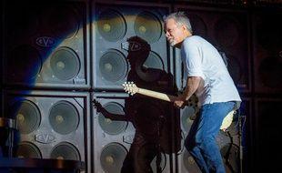 Le guitariste Eddie Van Halen