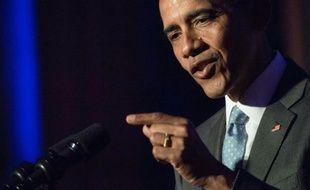Le président américain  Barack Obama le 28 mars 2016 à Washington