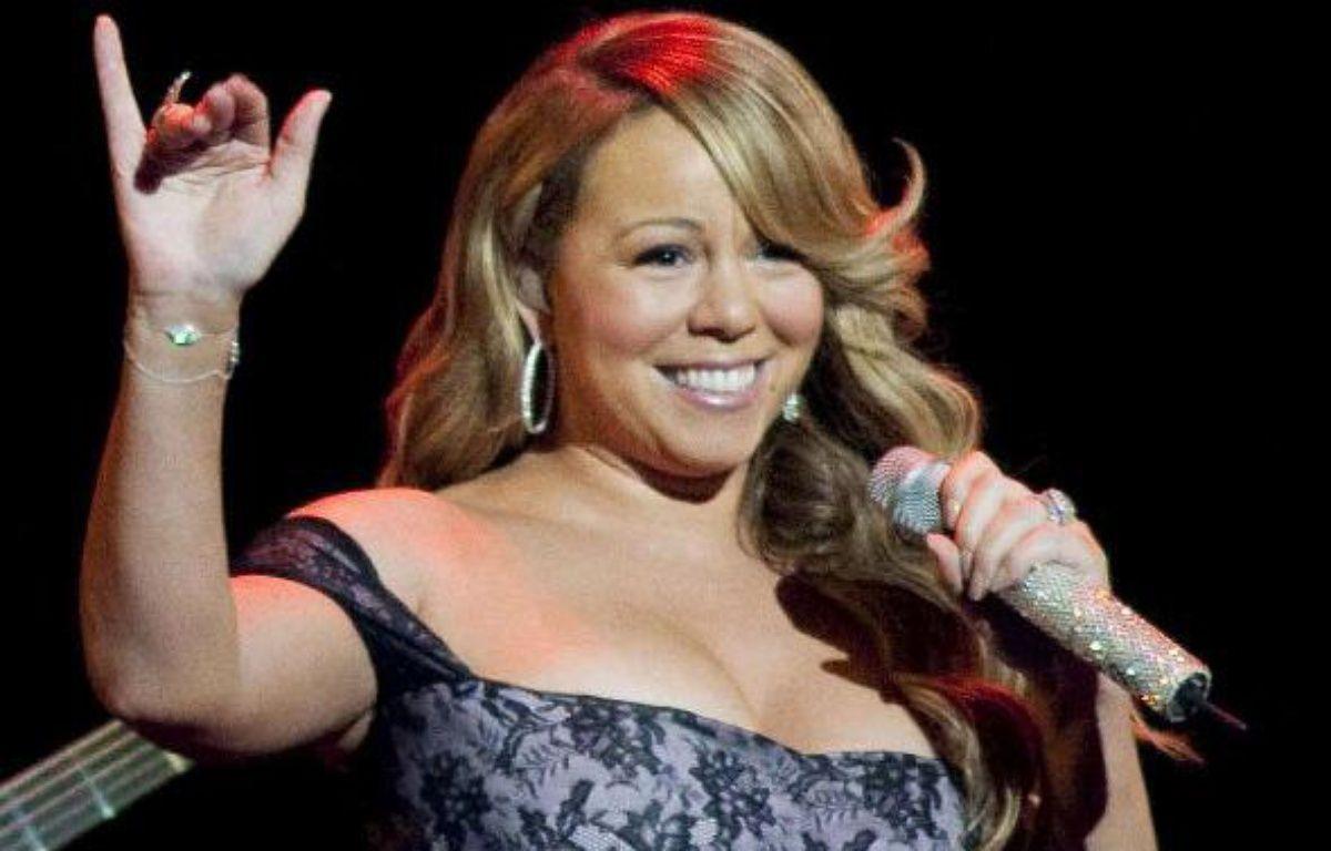 Mariah Carey dans l'Arkansas (Etats-Unis) en juin 2010 – Brown/AP/SIPA