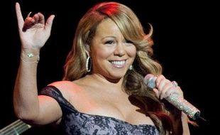 Mariah Carey dans l'Arkansas (Etats-Unis) en juin 2010