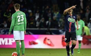 Lorsque Marquinhos a inscrit le deuxième but parisien (35e), le PSG a cru passer une soirée tranquille dans le Chaudron.