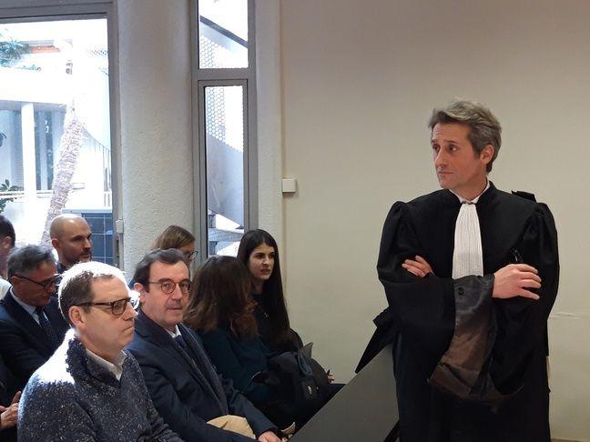 Maître Laurent Nougarolis, l'avocat de Guy Novès