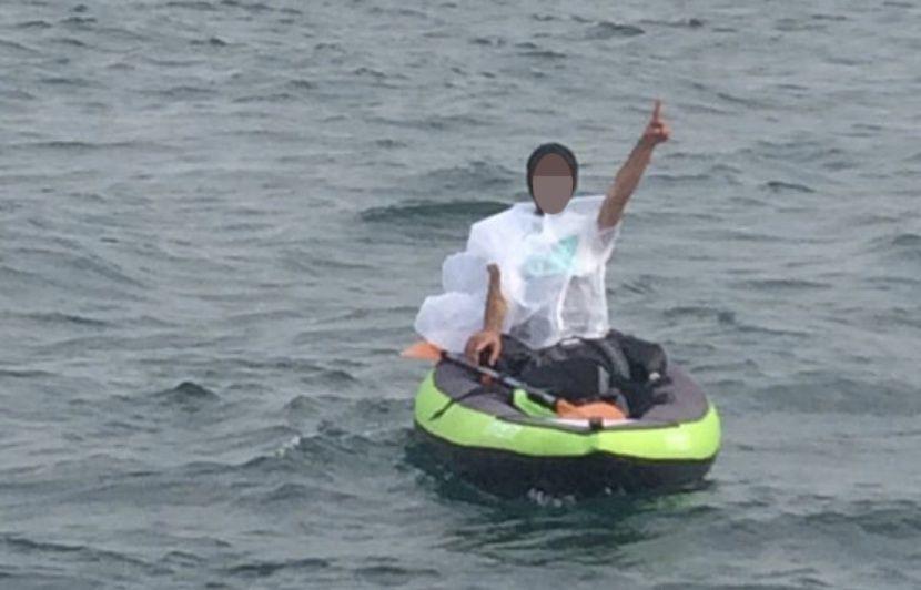 Nord : Un migrant en kayak intercepté lors d'une tentative de traversée du détroit du Pas de Calais