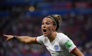 L'Anglaise Lucy Bronze durant la Coupe du monde 2019.