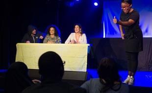Quatre humoristes montent un spectacle nommé «Questions pour un puceau» pour parler de prévention avec humour.