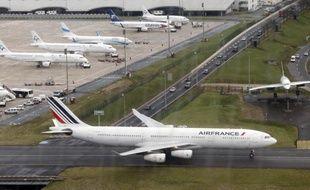 Illustration d'un avion de la compagnie Air France.