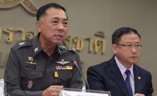 Conférence de presse à Bangkok, le 2 juin 2015, sur la politique thaïlandaise contre le trafic de migrants
