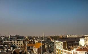 La pollution à Lille, le 9 avril 2015
