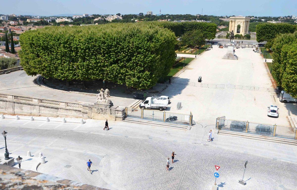 L'avant-place royale du Peyrou, à Montpellier. – N. Bonzom / Maxele Presse