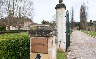 Château Bellefont Belcier, premier grand clu classé à Saint-Emilion, racheté en décembre 2012 par un investisseur chinois