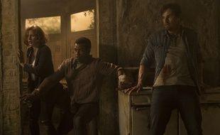 Jessica Chastain, Isaiah Mustafa et Jay Ryan dans «Ça: Chapitre 2».