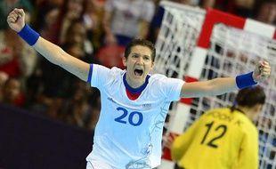 La handballeuse française Raphaëlle Tervel, en août 2012, lors des JO de Londres.