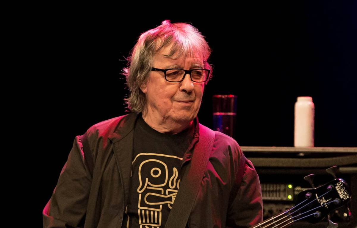 Le bassiste Bill Wyman sur la scène du KB Lorensbergsteatern en 2014 en Suède  – WENN