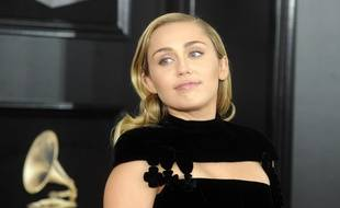 La chanteuse Miley Cyrus.