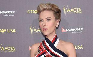 Scarlett Johansson au gala G'Day USA à Los Angeles, le 31 janvier 2015.