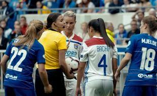 Stéphanie Gillard a filmé plusieurs matchs de l'OL pour le film, dont la demi-finale de Ligue des champions contre Chelsea, en avril 2019.