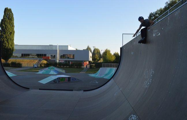 A La Rotonde, le skatepark sera bientôt rénové.
