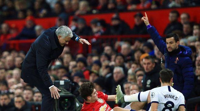 Premier League: De retour à Old Trafford, Mourinho se prend sa première gamelle avec Tottenham