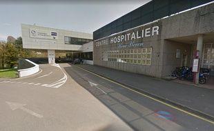 L'entrée du centre hospitalier de Dinan.